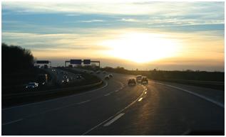 de autosnelweg
