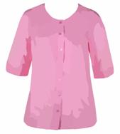 een roze bloes